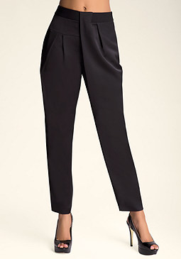 bebe Debbie Pleated Pants