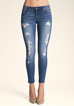 bebe Heartbreaker Jeans