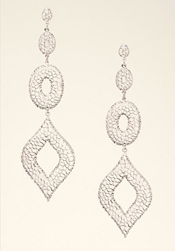 bebe Triple Drop Earrings