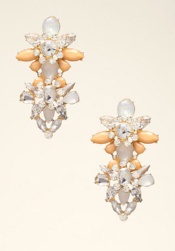 bebe Ornate Statement Earrings