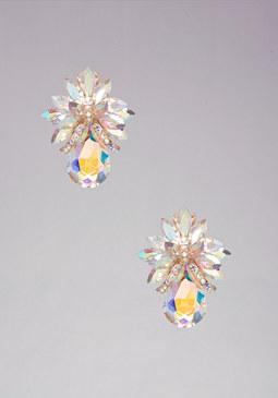 bebe Floral Clip-On Earrings