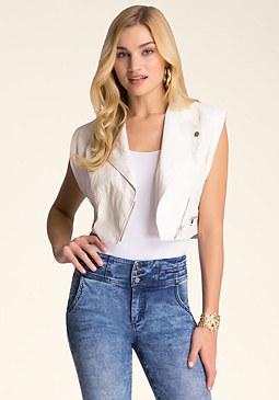 bebe Kylie Concert Vest