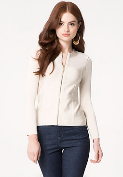 bebe Long Sleeve Bandage Jacket