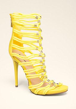 bebe Cadee Rope Sandals