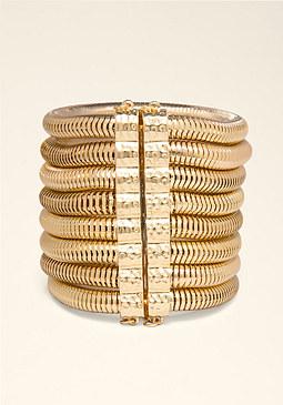 bebe Coil Wrapped Bracelet