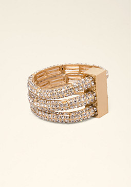 bebe Crystal Bracelet Set