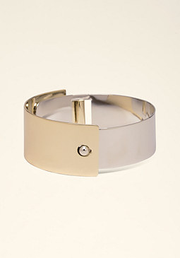bebe Modern Two-Tone Bracelet
