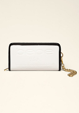 bebe Madison Logo Wallet