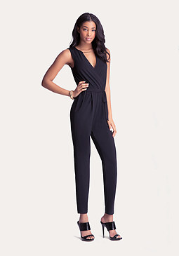 Petite Necklace Jumpsuit at bebe