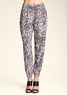 Petite Wide Waist Crop Pant at bebe
