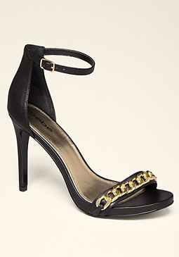 bebe Siennaa Cross Strap Sandals