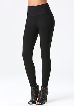 Petite Zip Leggings at bebe