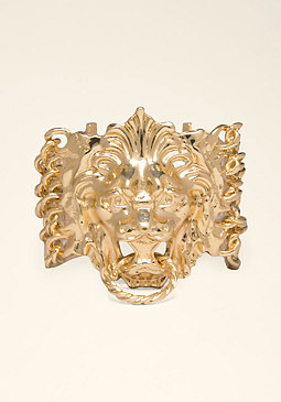 bebe Lion Door Knocker Bracelet