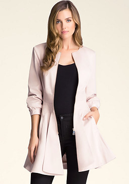 bebe Adella Trench Coat