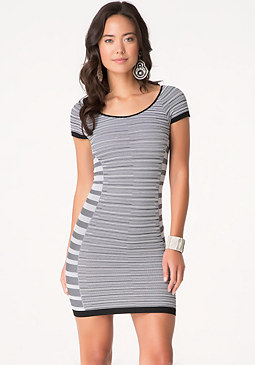 bebe Summer Stripe Dress