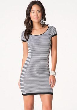 bebe Summer Stripe Dress