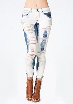 bebe Atomic Heartbreaker Jeans