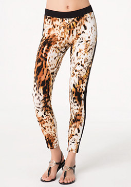 bebe Cheetah Queen Leggings