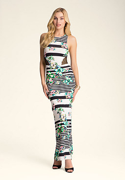Petite Racerback Maxi Dress at bebe