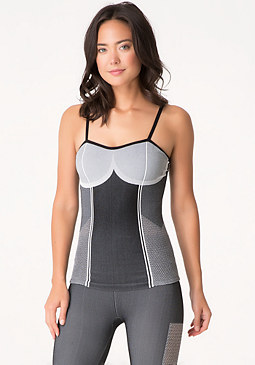 bebe Colorblock Seamless Tank