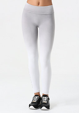 bebe Dip Dye Seamless Leggings