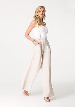 bebe Cameron Wide Leg Trousers