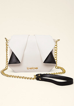 bebe Colorblock Crossbody Bag
