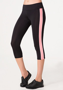 bebe Colorblock Crop Pants
