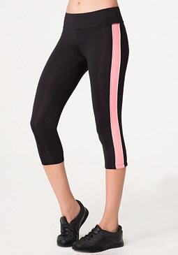 bebe Colorblock Crop Pants