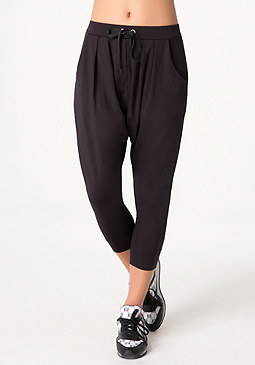 bebe Drop Crotch Lounge Pants