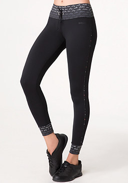 bebe Cuffed Casual Leggings