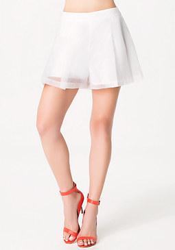 bebe Lindsey Organza Shorts
