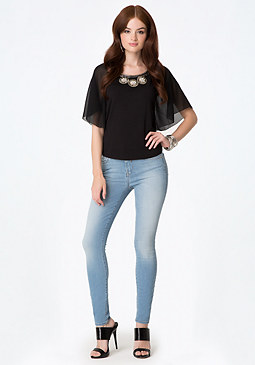 Hourglass Avery Jeans at bebe