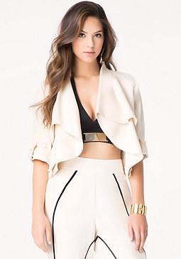 bebe Nikki Soft Woven Jacket