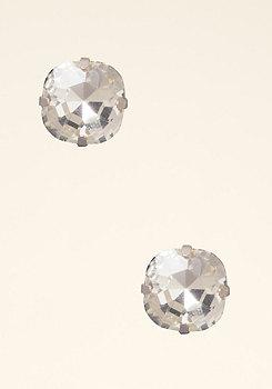 bebe Square Crystal Earrings
