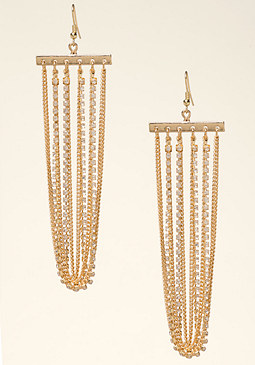 bebe Looped Chain Earrings