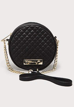bebe Samia Quilted Leather Bag