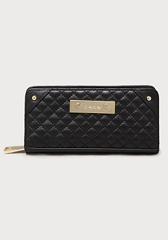 bebe Quilted Leather Wallet
