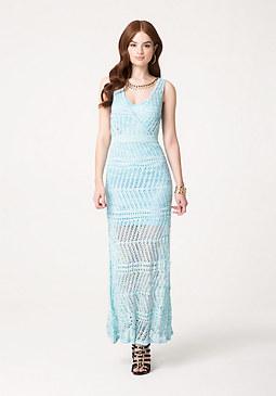 bebe Petite Pointelle Dress