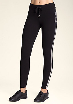 bebe Logo 23 Leggings