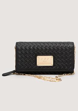 bebe Lizbeth Woven Wallet
