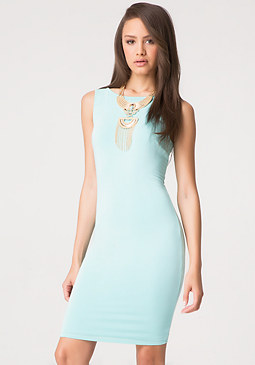 bebe Petite Cage Back Dress