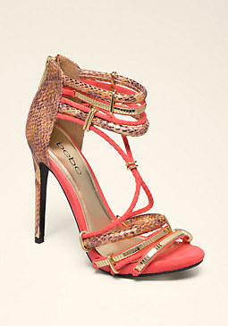 Abban Strappy Sandals at bebe