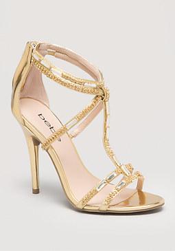 bebe Abree T-Strap Sandals