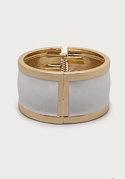 bebe Enamel Hinge Bracelet