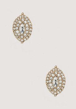 bebe Marquise Crystal Earrings