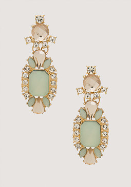 bebe Pop Color Drop Earrings