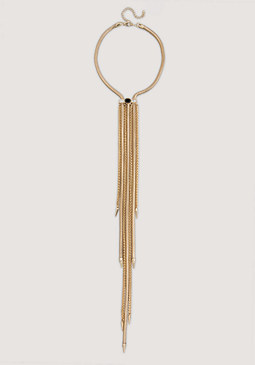 bebe Gold Multi-Chain Necklace