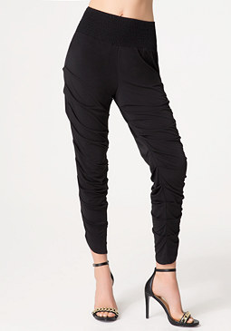 bebe Pleated Leg Pants