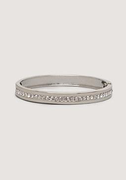 bebe Crystal Lined Bracelet